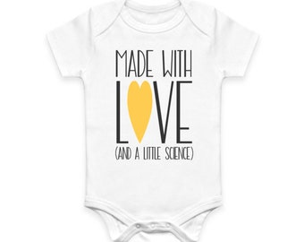 Made With Love & Science Baby Bodysuit