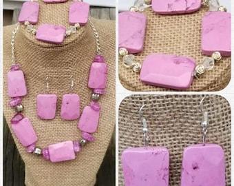 Chunky Pink Set