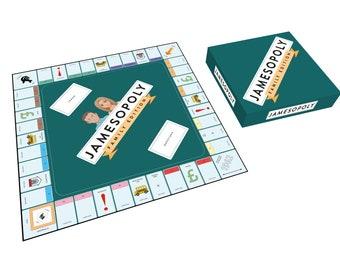 Custom-opoly Board Game