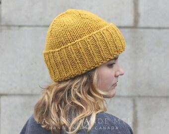 2935fa3ef18 Man beanie mustard beanie mans beanies man knit hat mens