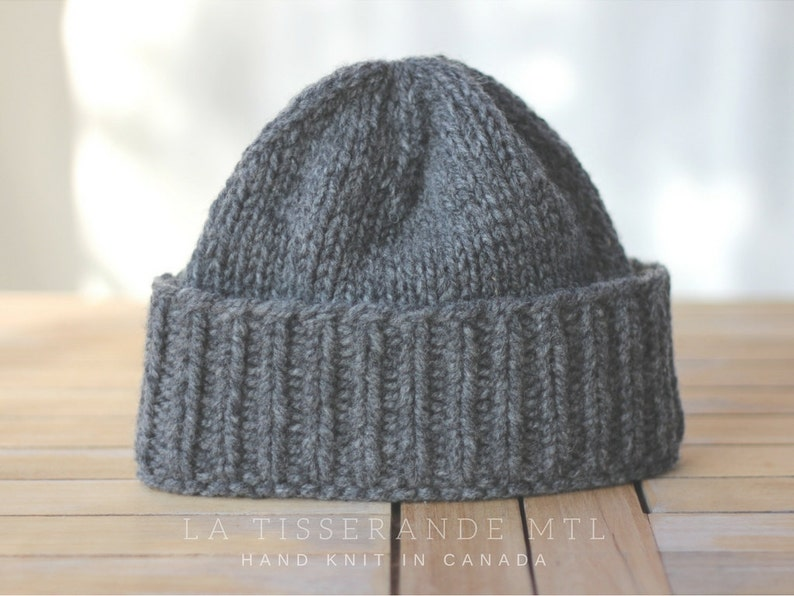 0407036c10d98 Fisherman beanie wool beanie knitted hat knit hats    The