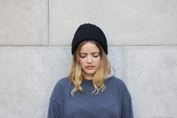 White beanie womens beanie knit hat fisherman beanie wool  32303239c45