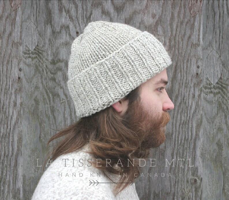 a6d5f28631b Man knit hat Winter hat Mens knit hatKnit hat man Knitted