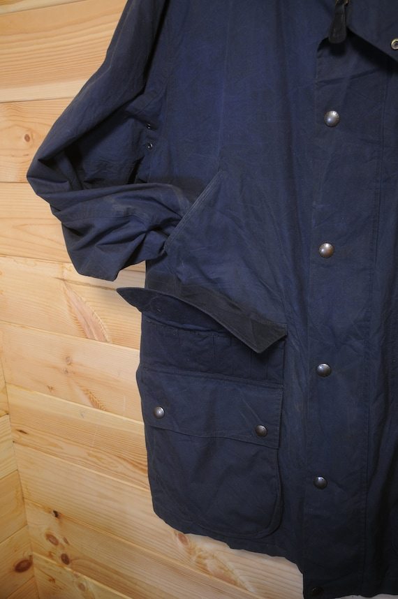Vintage Polo Ralph Lauren Waxed Field Jacket Coat… - image 7