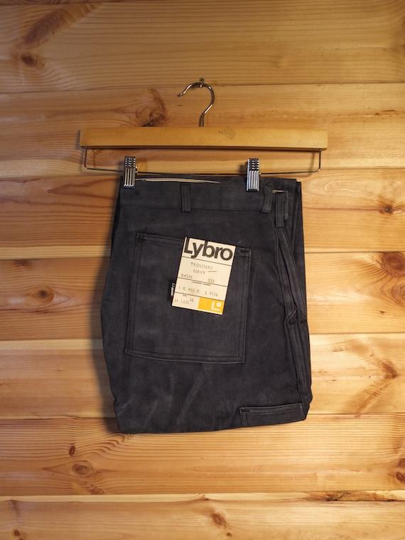 """Deadstock Lybro Trousers Denim Workwear Jeans 36"""""""