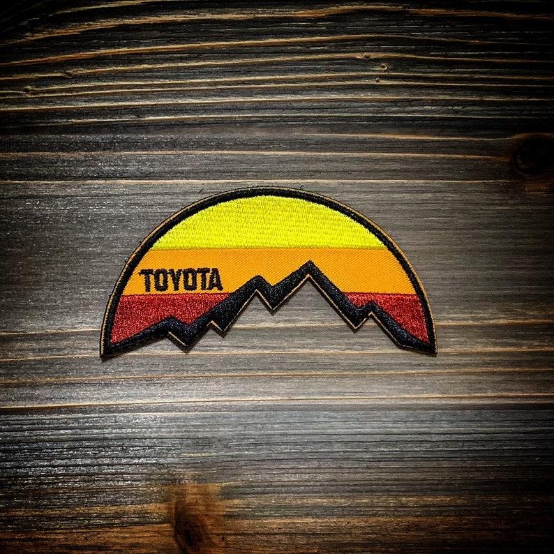 Toyota Sunrise patch