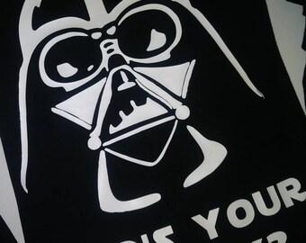 Star Wars inspired Darth Vader shirt/ who's your daddy/ Disney trip shirt/ Party shirt/Darth Vader