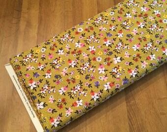 SALE ~ 1/2 YARD or 1 YARD Fabric ~ Saturday Morning Husk (Floral) by BasicGrey for Moda Fabrics