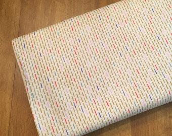 SALE ~ 1/2 YD. or 1 YARD Fabric ~ Saturday Morning Wisp (Natural) by BasicGrey for Moda Fabrics