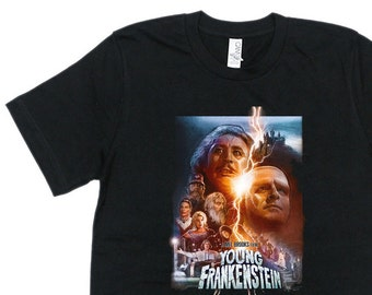 a7d209fbabf6 1970 s Young Frankenstein T-shirt