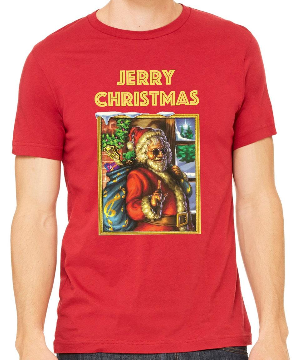 Jerry Christmas Jerry Garcia Christmas t-shirt   Etsy