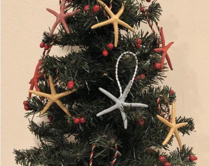 Starfish Christmas Ornament