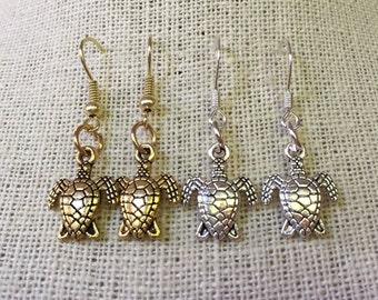 Save our Sea Turtles! Earrings