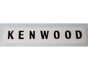 Kenwood Chef A701 A701A A702 A703 Speed Control Nameplate Logo Decal Sticker
