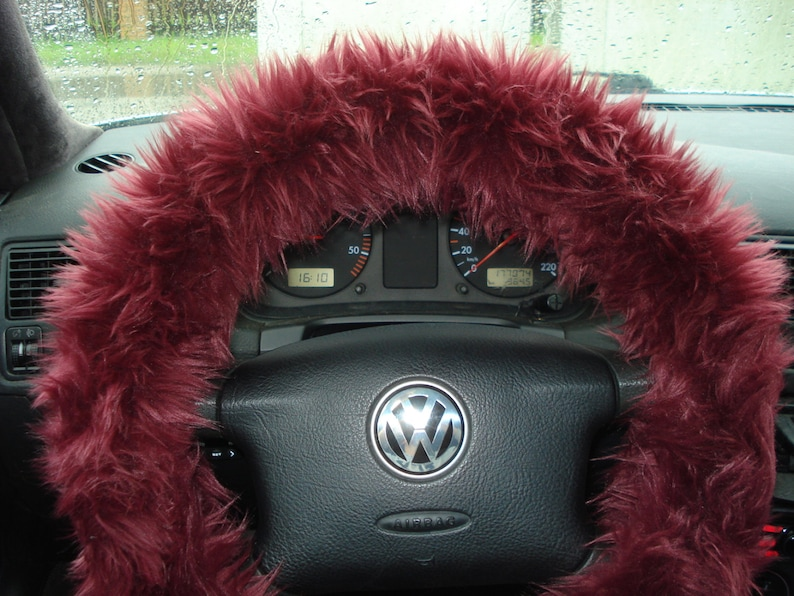 furry steering wheel covers canada
