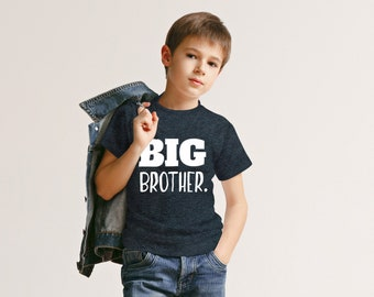 Big Brother Shirt for Toddler Promoted to Best Big Brother Announcement Baby Boys