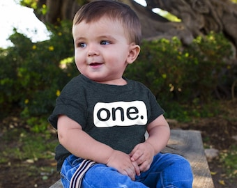 First Birthday Outfit boy 1st Birthday boy Gifts one Year Old Baby Boys Shirt