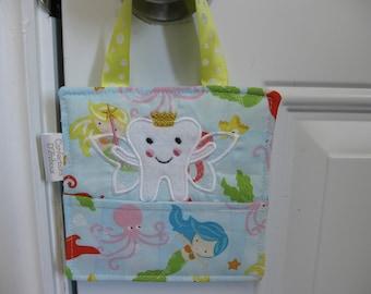 Bag for girl, Little Mermaid tooth fairy