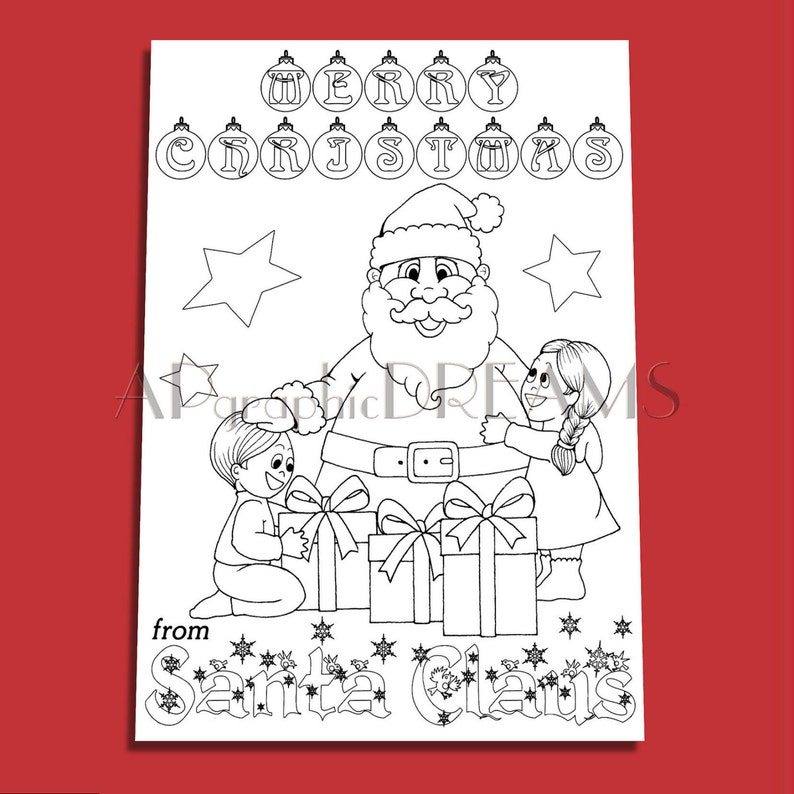 Christmas Coloring Pages Printable Xmas Coloring Santa Claus Coloring Page Christmas Printables Christmas Gifts