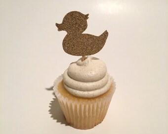 Duck Cupcake Topper