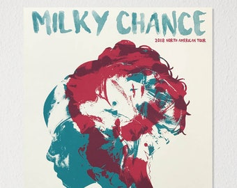 Milky Chance 2018 North American Tour Poster
