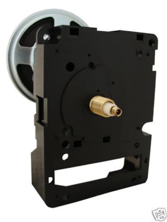 "Seiko Dual Chime Quartz Clock Movement Pendulum Short Shaft for Dials up to 1//4/"""