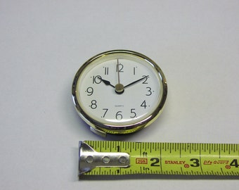 """Clock Fit Up Insert, Easy to Read, Arabic numbers, 2 7/16"""", #262"""