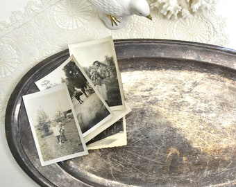 vintage silver plate tray oval silverplate tray platter plate serving tray shabby chic display