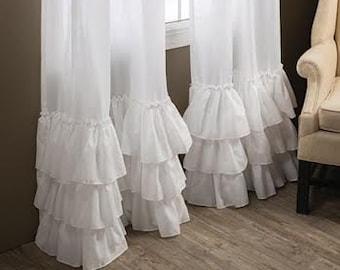 Kimberly Ruffled Curtains