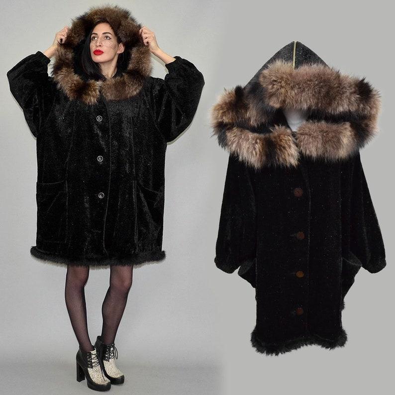 08e9cf2fe06aaf Vintage Ronstedt Rayon Velvet Metallic Fuzzy Blanket Oversize | Etsy