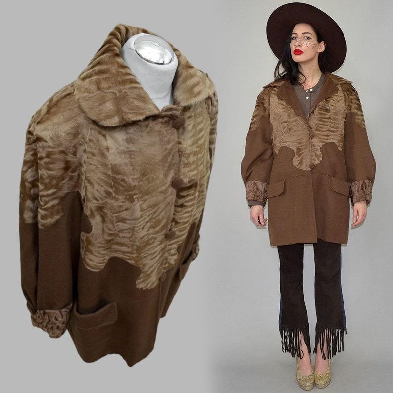 Vintage Leger Cashmere Kaschmir Wool Blanket Fuzzy Camel Thin image 0