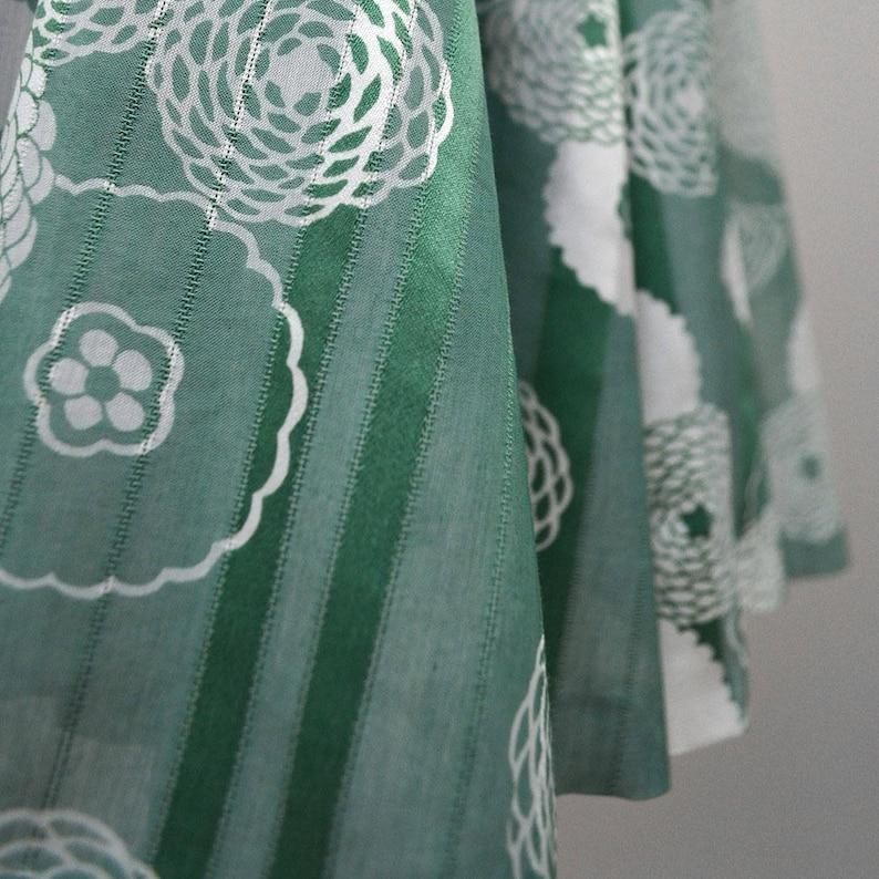 Vintage Chiffon Tapestry Tea Petticoat Flounce Dance Circle Skirt Mini Dress Cocktail Flower Tutu Skater Twirl Romantic 70s Rockabilly-Art S