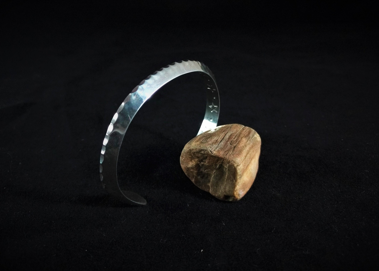 2g Triangle Stamped Bracelet