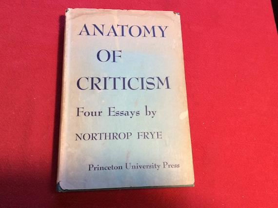 Anatomy of Criticism 1957 Edition   Etsy
