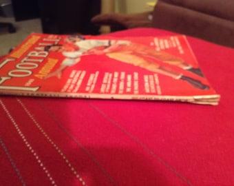 Vintage 1941 Illustrated Football Annual Magazine