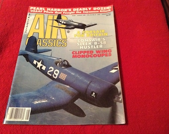 Air Classics Magazine, Aug. 1986 Issue.