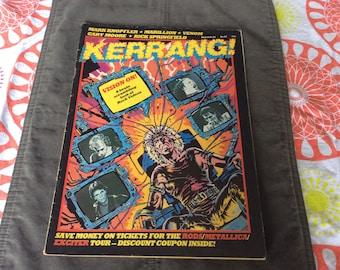 Kerrang! Magazine Vision On!, 1984 Issue
