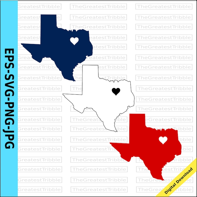 Map Of Texas Fort Worth.Texas Dallas Heart Map Texas Fort Worth Heart Svg Png Jpg Eps Vector Graphic Clip Art Dfw Heart Ft Worth Heart