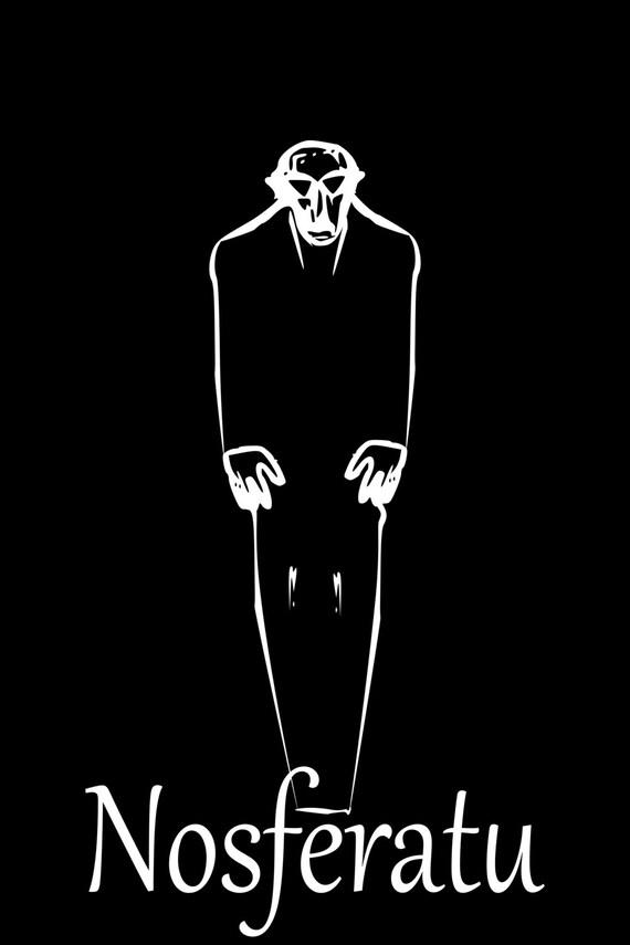 Nosferatu Classic Movie Poster PNG Vampire