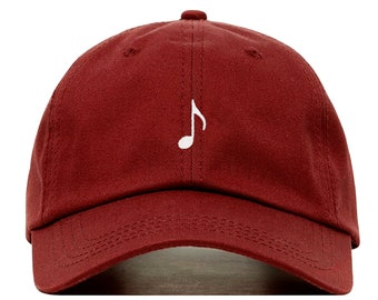 7b4b1b1e454 MUSIC NOTE Baseball Hat