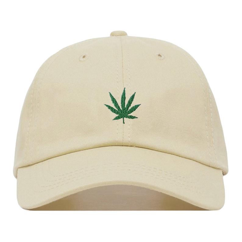 MARIJUANA Baseball Hat Embroidered Dad Cap 420 Cannabis  8c925e64c9a7