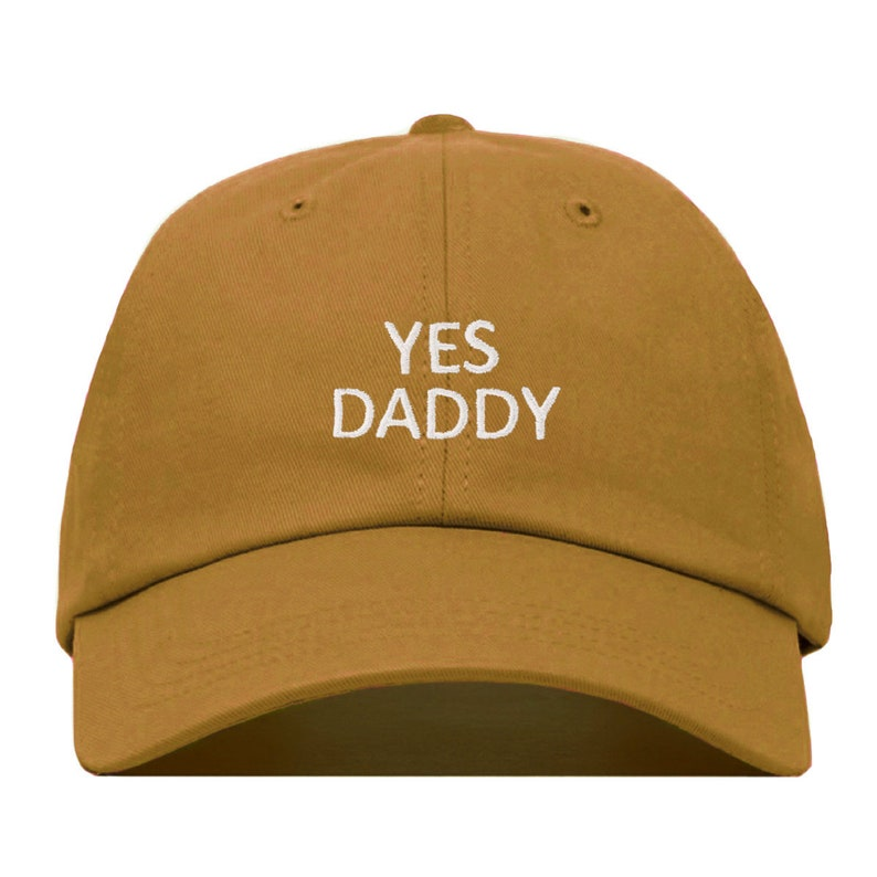d83311c23d866 YES DADDY Baseball Hat Embroidered Dad Cap Babygirl Barbie