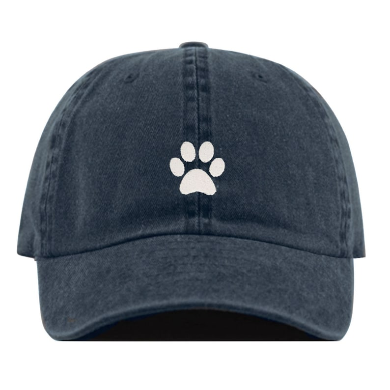 f58afcbdf7de4 PAW Baseball Hat Embroidered Dad Cap Dog Doggo Puppy Print