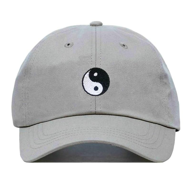 058187178c7 YIN YANG Baseball Hat Embroidered Dad Cap Spiritual Zen