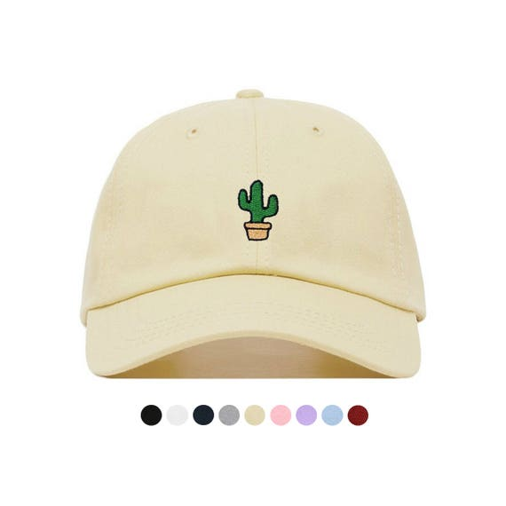 CACTUS Baseball Hat Embroidered Dad Cap Bachelorette  8016a89501e