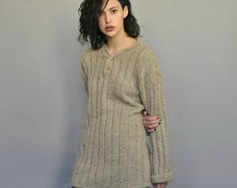 Oversized Knit Sweater Vintage 90s