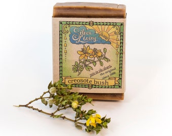 Organic Creosote/Chaparral/Rain In the Desert Soap