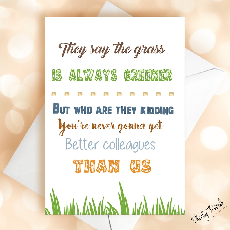 leaving cards funny leaving cards new job cards new job  etsy