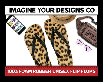 9b3b6bf6219788 Leopard Flip Flops
