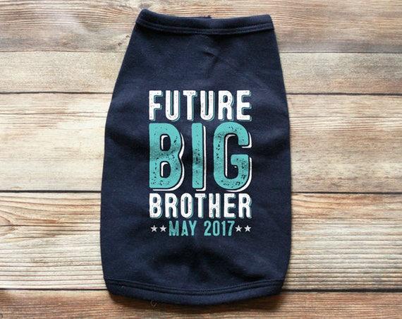 d924d659 ... Dog Future Big Brother Shirt - Dog Big Brother Shirt - Dog Pregnancy  Announcement Shirt -